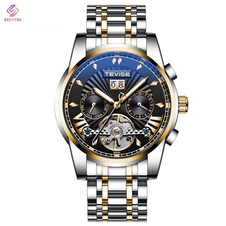 ساعت مچی اتوماتیک عقربهای مردانه تویس مدل 9005 – RGBL