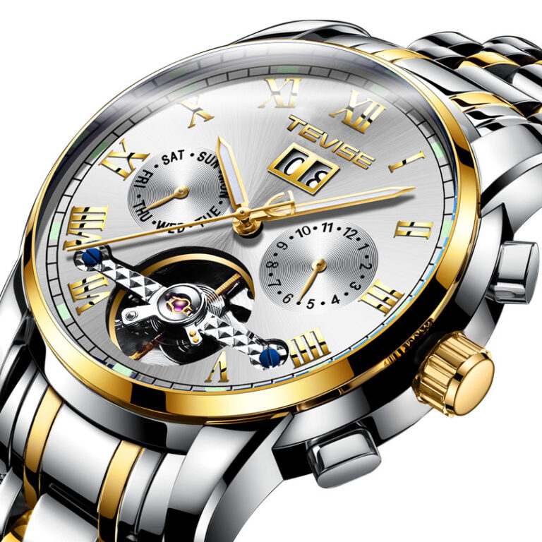 ساعت مچی اتوماتیک عقربهای مردانه تویس مدل 9005 – WHIT
