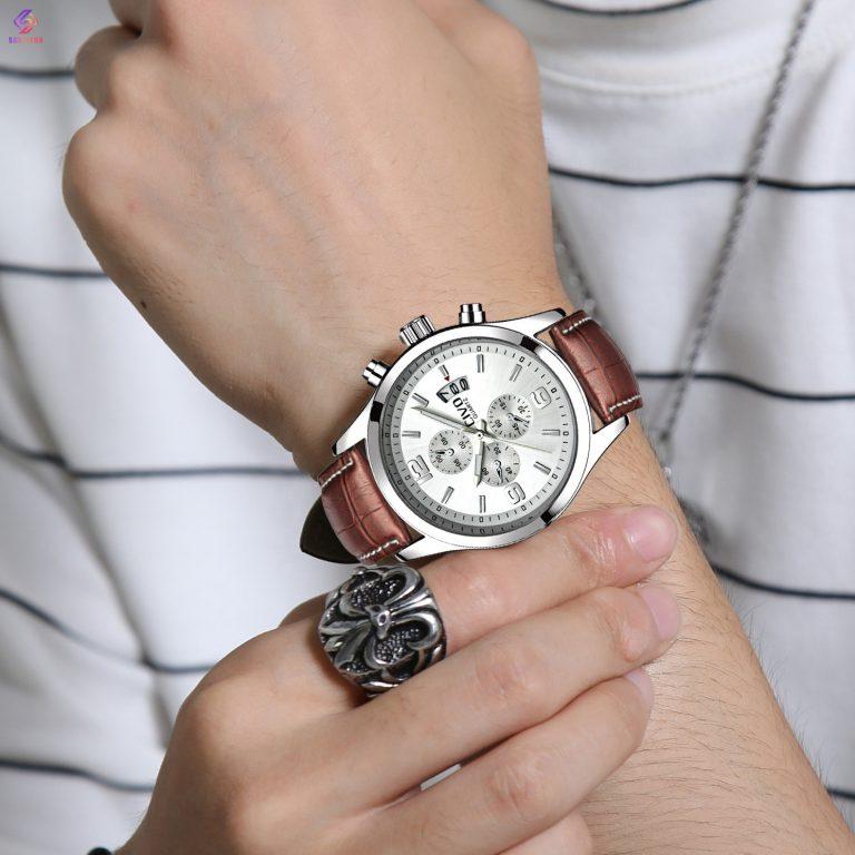 ساعت مچی عقربهای مردانه سیوو مدل 9202-BRWH