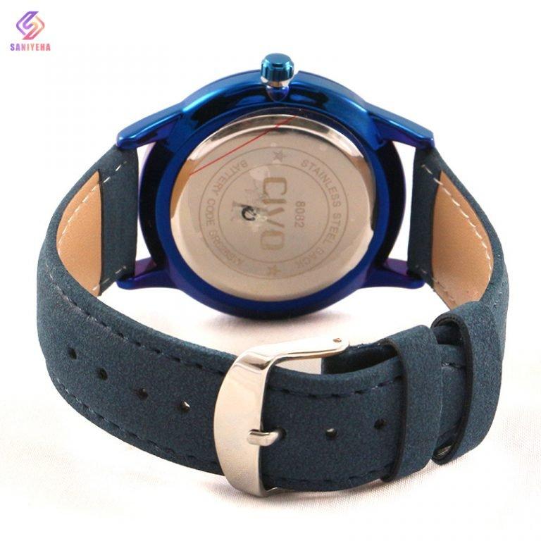 ساعت مچی عقربه ای سیوو مدل 8082-BLUE