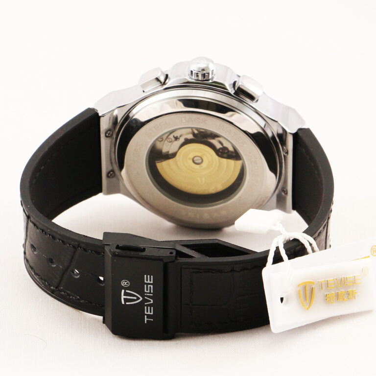 ساعت مچی اتوماتیک عقربهای مردانه تویس مدل 828 – silver