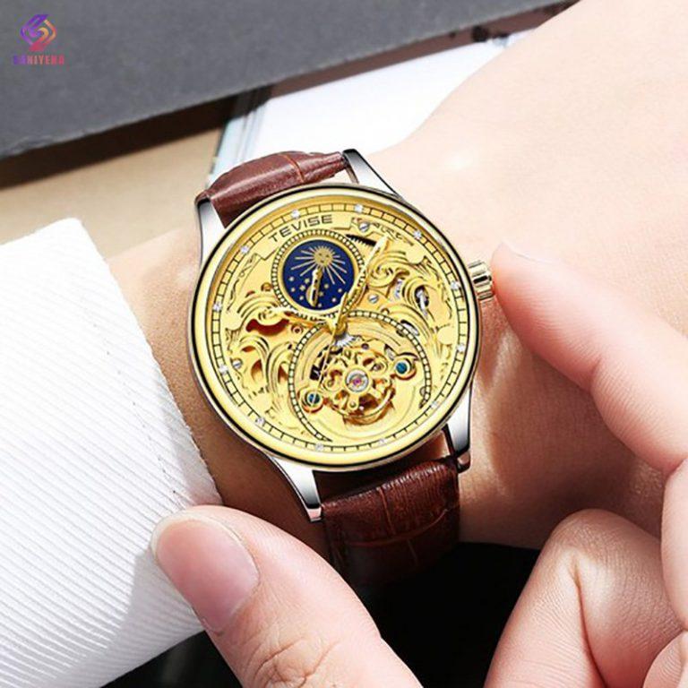 ساعت مچی اتوماتیک عقربهای مردانه تویس مدل GOLD – t 820
