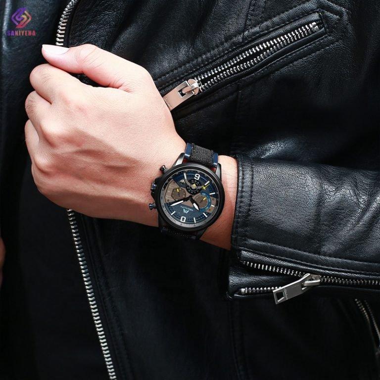 ساعت مچی عقربهای مردانه مگالیت مدل nbs-8083