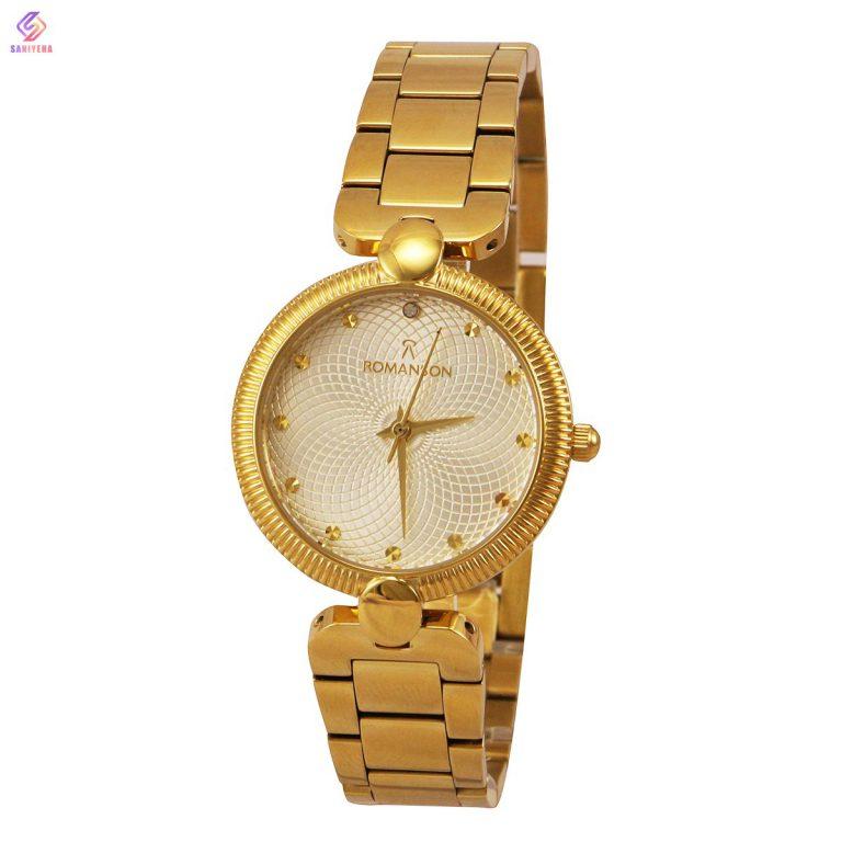 ساعت مچی عقربه ای زنانه رومانسون مدل gowh-2501l