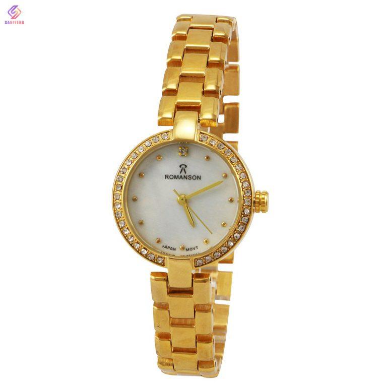 ساعت مچی عقربه ای زنانه رومانسون مدل gobl-2126