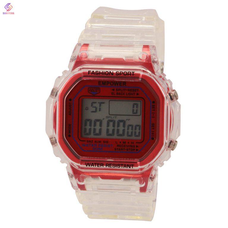 ساعت مچی عقربه ای مردانه و زنانه امپاور مدل red-30m