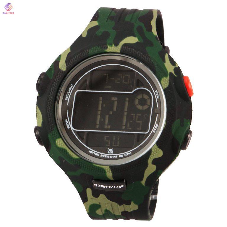 ساعت مچی دیجیتال مردانه ام جی ام مدل GRE-8818m