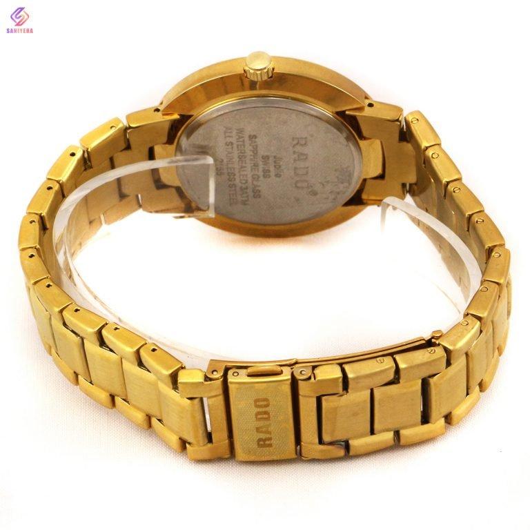 ساعت مچی عقربهای مردانه رادو مدل GOLD-2155