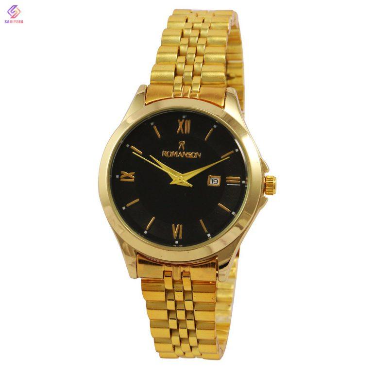 ساعت مچی عقربه ای زنانه رومانسون مدل gb-5238l