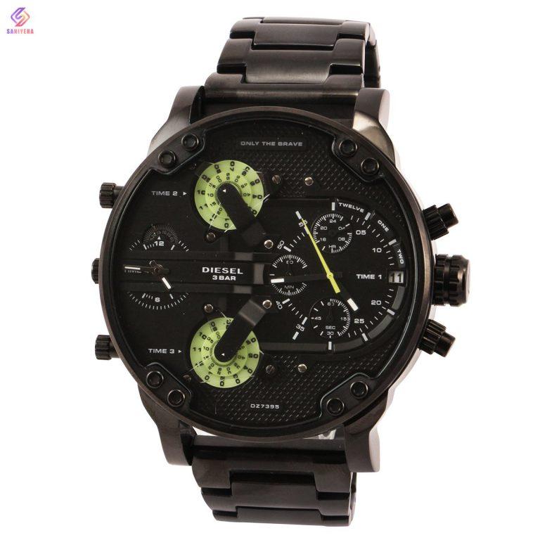 ساعت مچی عقربهای مردانه دیزل مدل dz-7395