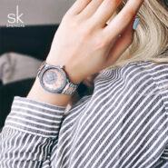 ساعت مچی عقربه ای زنانه اس کا مدل SK 0075L