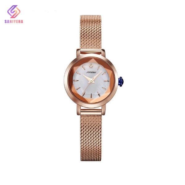 ساعت مچی عقربه ای زنانه سینوبی مدل s9753