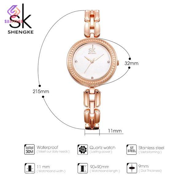 ساعت مچی عقربه ای زنانه اس کا مدل K0003L