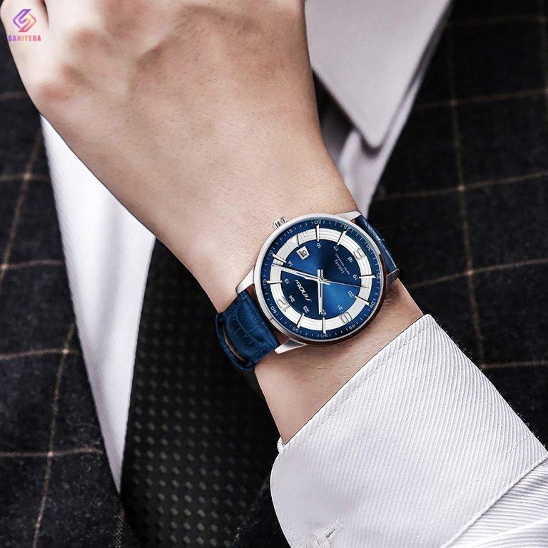 ساعت مچی عقربهای مردانه سینوبی مدل S9839G