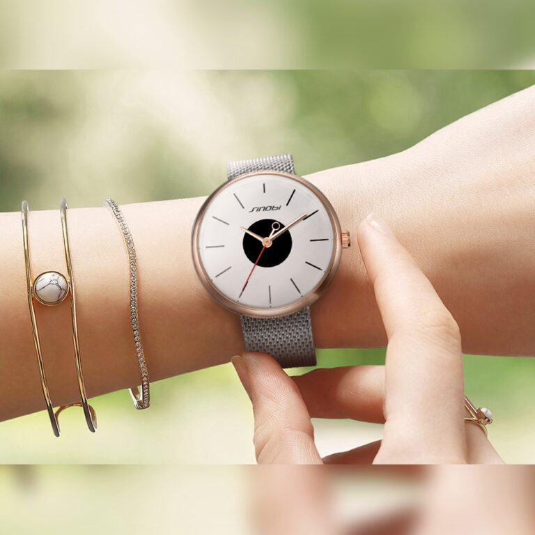 ساعت مچی عقربه ای زنانه سینوبی مدل s9700l