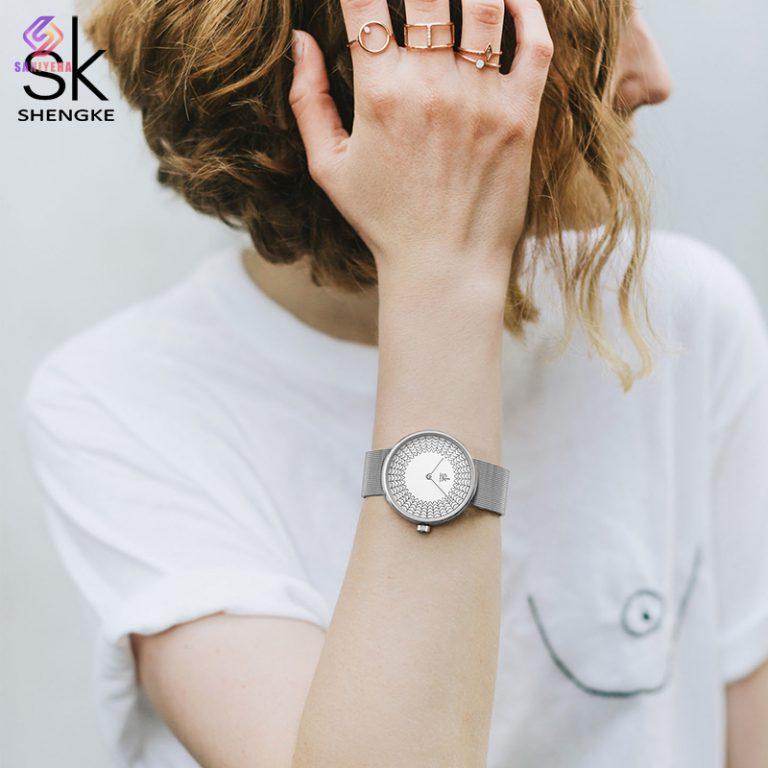 ساعت مچی عقربه ای زنانه اس کا مدل k0126
