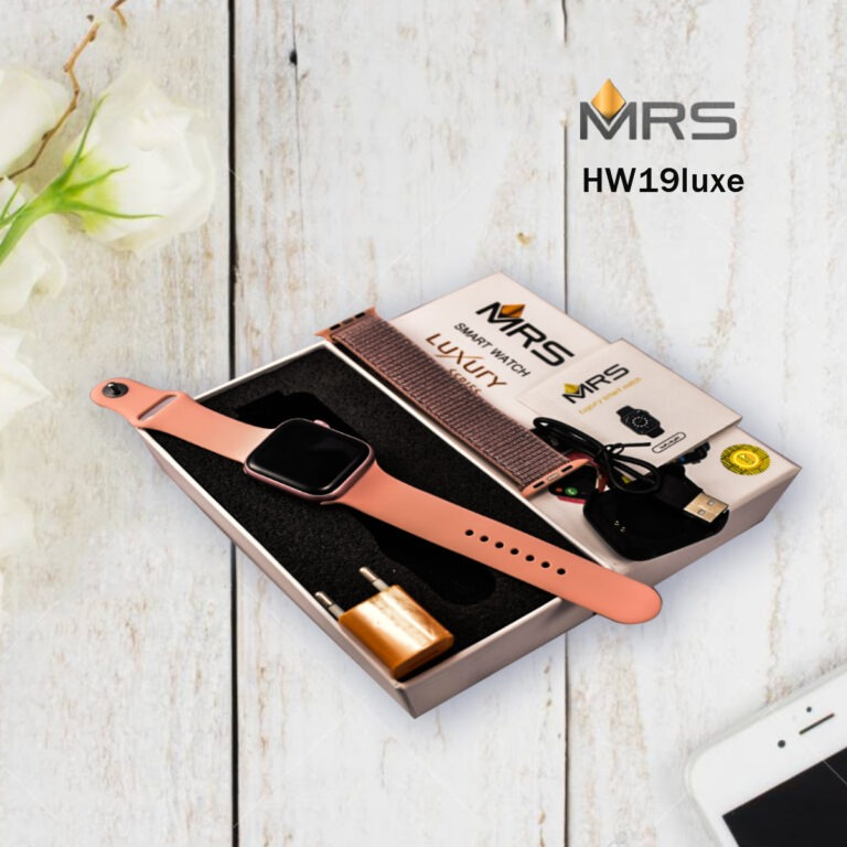 ساعت هوشمند ام ار اس مدل HW19 Luxe
