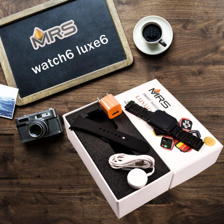 ساعت هوشمند ام آر اس watch6 Luxe6
